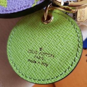 Louis Vuitton Accessories - LV Monogram Giant Bag Charm Key Holder Lilac Green